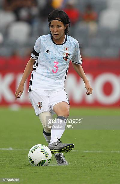 Hikaru Kitagawa of Japan during the FIFA U20 Women's World Cup Third Place Play Off match between USA and Japan at National Football Stadium on...