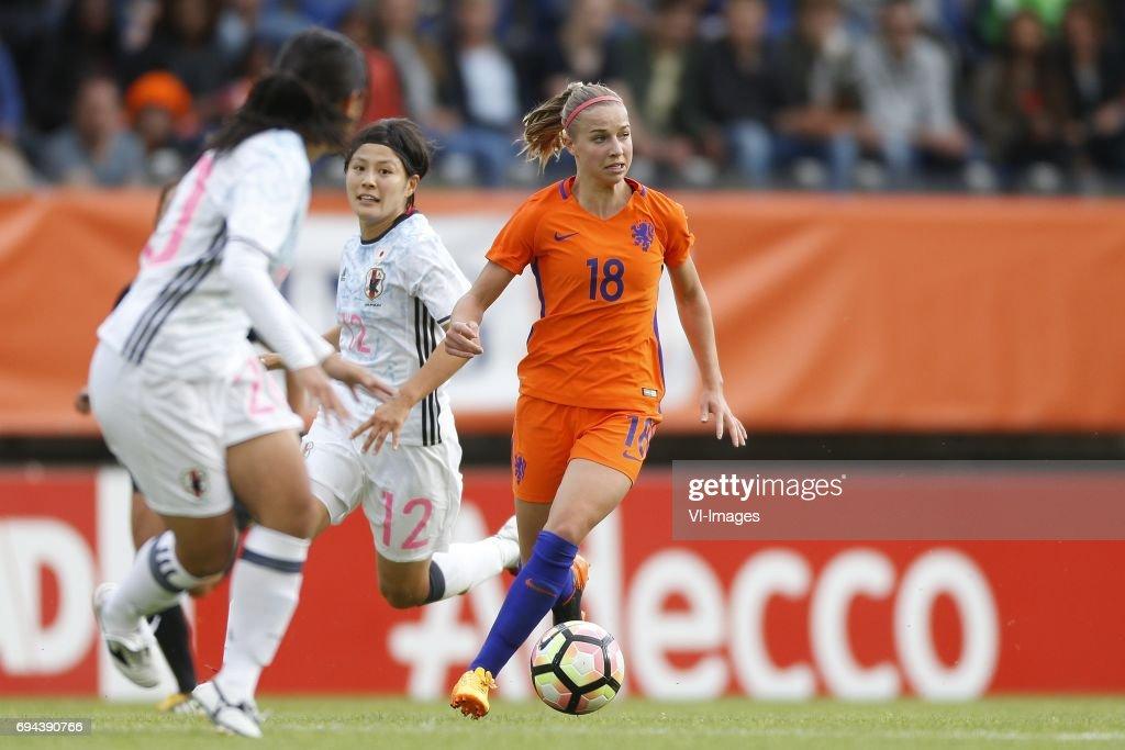 Friendly match'Women: Netherlands v Japan' : ニュース写真