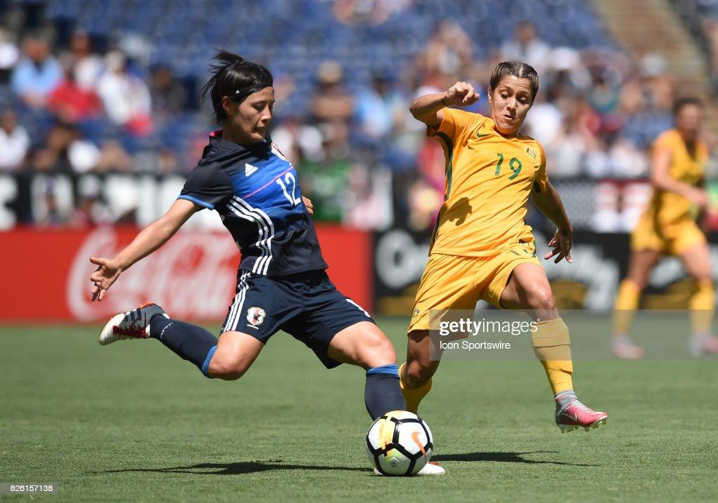 SOCCER: JUL 30 Tournament of Nations - Japan v Australia : ニュース写真