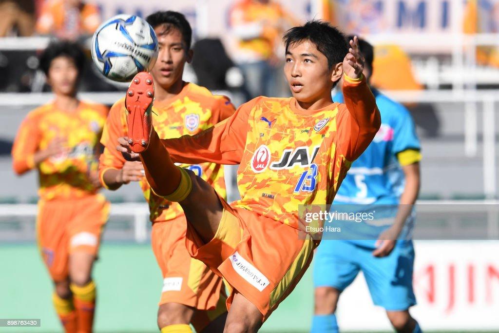 Shimizu S-Pulse v Sagan Tosu - 29th All Japan Youth (U-15) Football Tournament Semi Final : ニュース写真