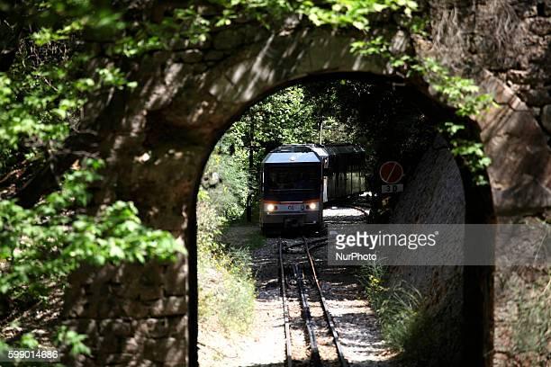 Hike through the gorge of Vouraikos The train starts from Diakofto the rack railway runs through the gorge of Vouraikos and terminates in Kalavryta...