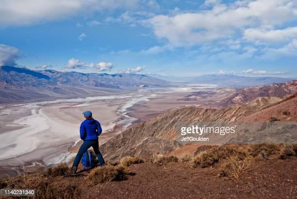 Hiker at Dante's View