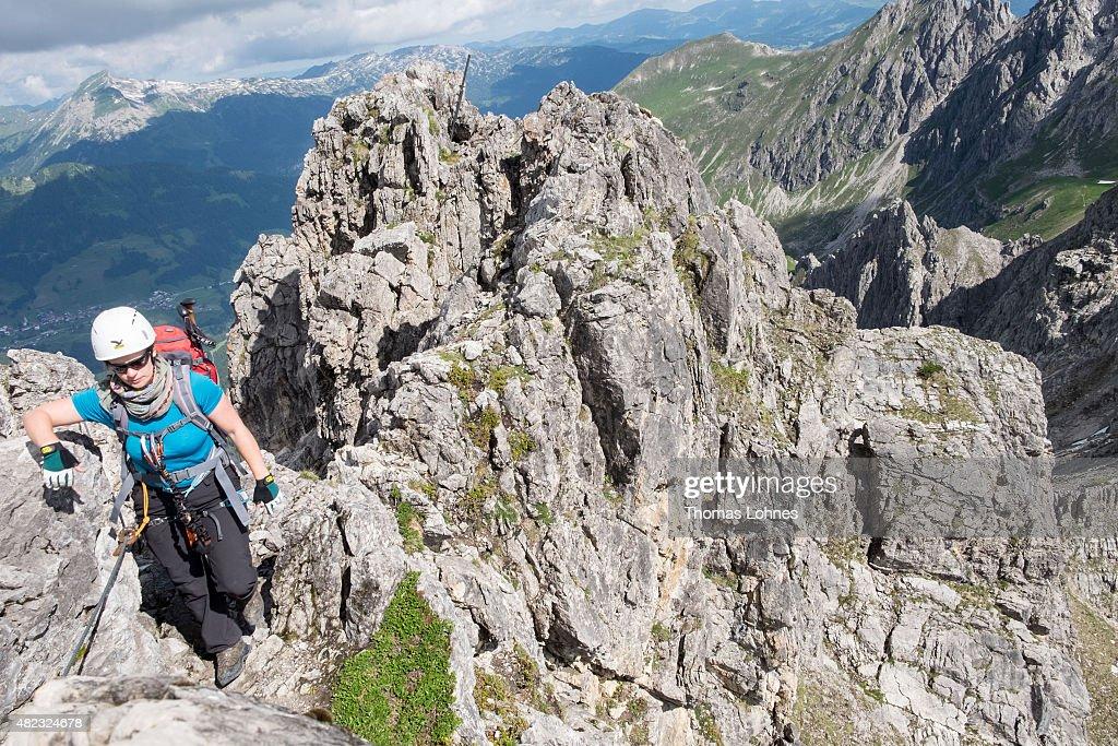 Klettersteig Near Munich : Fotos und bilder von travel destination: allgaeu mountainous region
