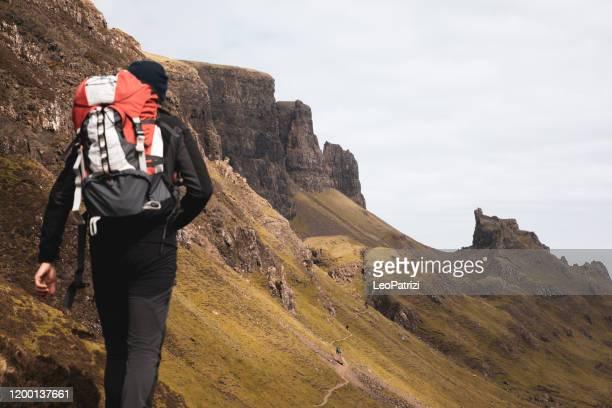 山のハイカー - グレンコー ストックフォトと画像