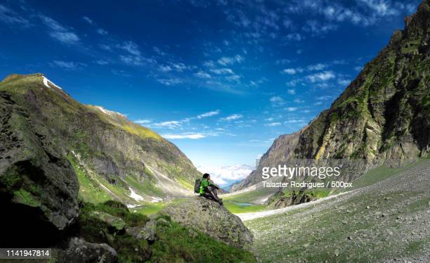 hiker - wide angle stock pictures, royalty-free photos & images