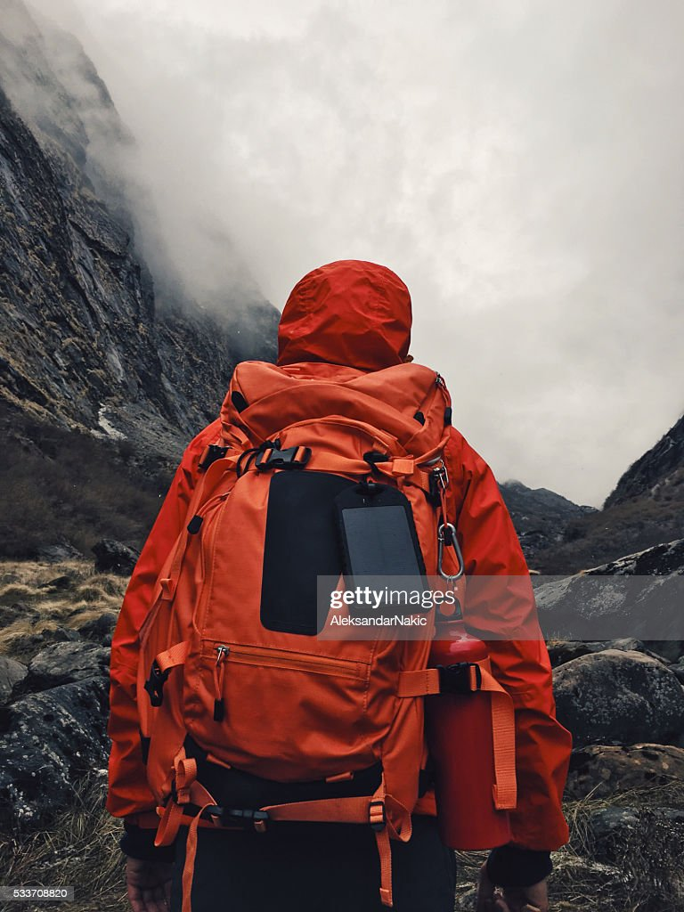 Scarpa da hiking : Foto stock