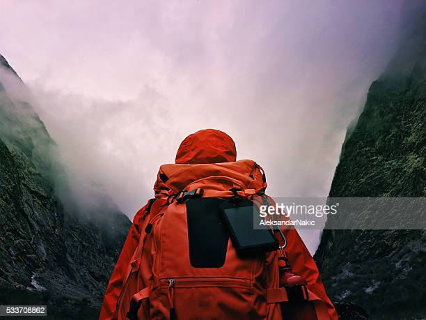 hiker - conquering adversity stock pictures, royalty-free photos & images