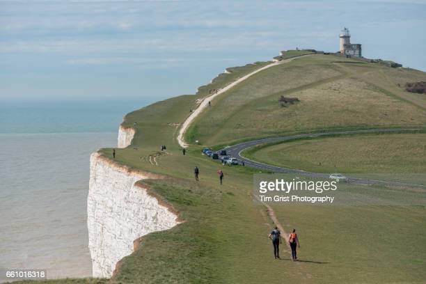 Hikers at Beachy Head