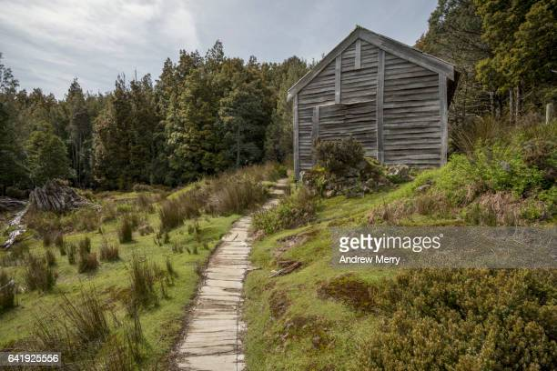 Hikers hut on the Overland Track