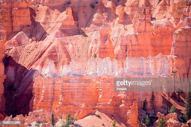 hikers in bryce canyon - theasis stock pictures, royalty-free photos & images