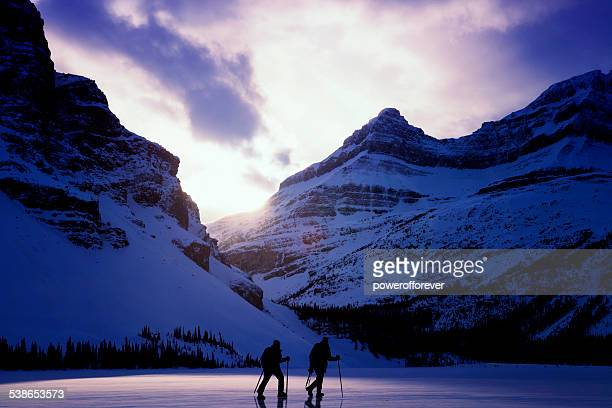 Hikers in Jasper National Park