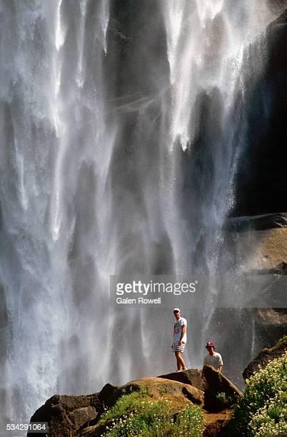 Hikers Near Base of Vernal Falls