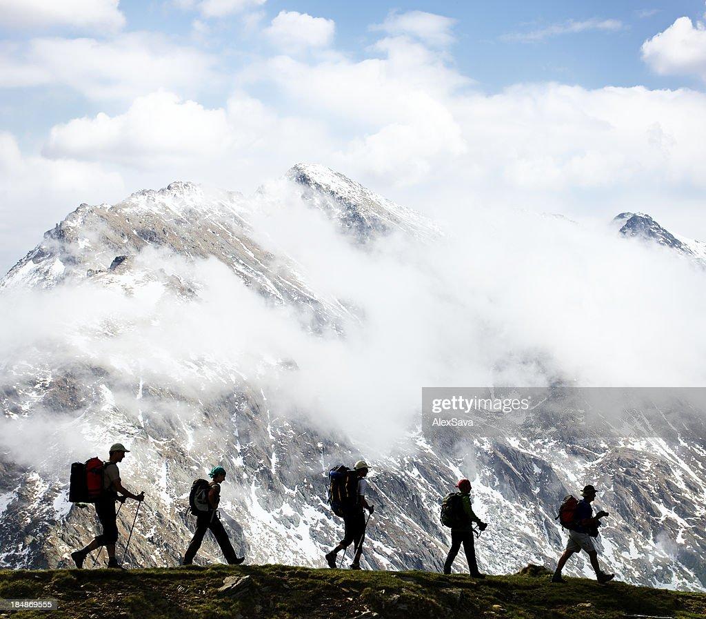 hikers : Stock Photo