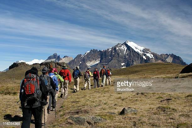 Senderismo en la Patagonia