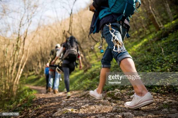 Wandelen en walking