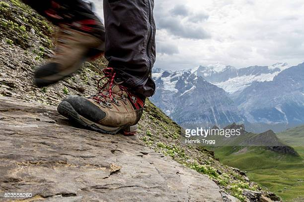 hiking boot - image stock-fotos und bilder