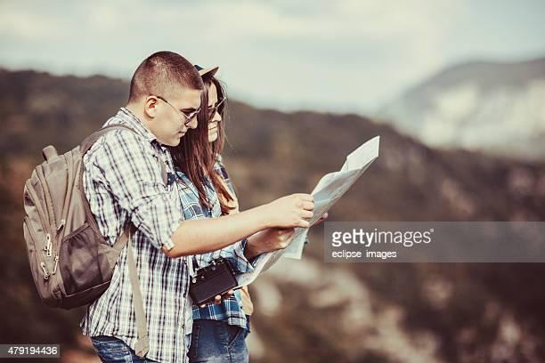 couple de randonnée