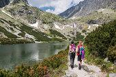 Hiking friends, Tatra Mountains