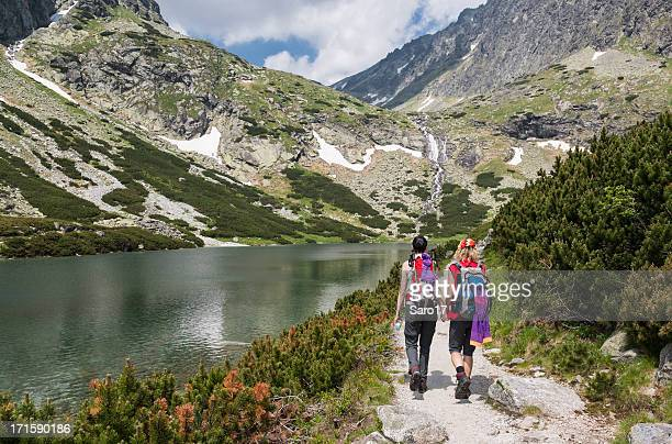 Hiking friends, Tatra Mountains