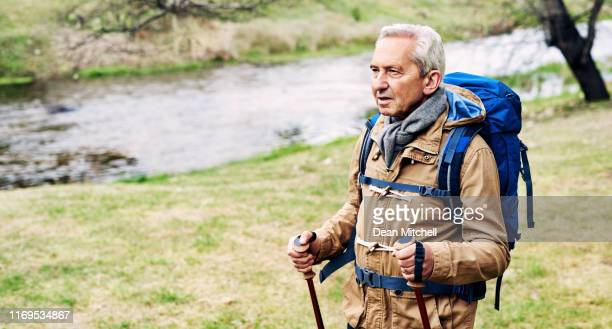 vandra sin väg in i pension - brook mitchell bildbanksfoton och bilder