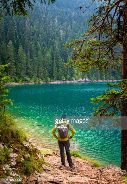 hiking in durmitor national park, montenegro - montenegro stock pictures, royalty-free photos & images