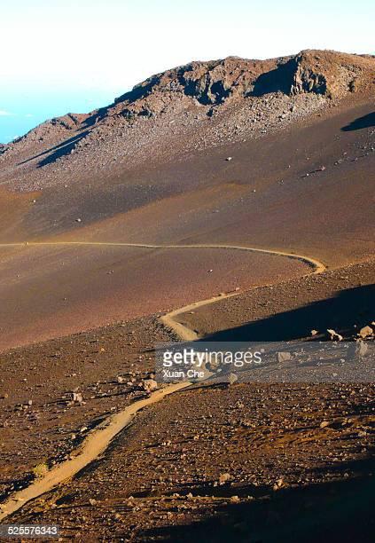 Hiking in Haleakala Crater