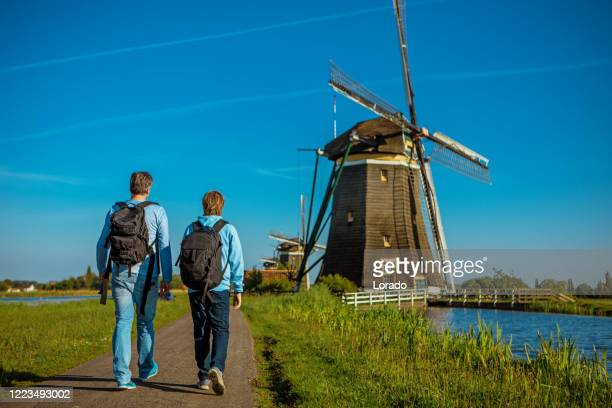 hiking in holland - netherlands stock pictures, royalty-free photos & images
