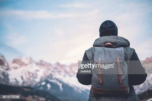 Hiking in solitude