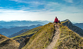 Hiking in the Allgaeu Alps