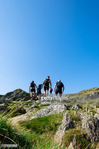 hiking in the hills - exploration stock pictures, royalty-free photos & images