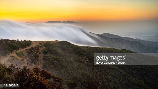 hiking in the santa ana mountains - irvine california stock pictures, royalty-free photos & images