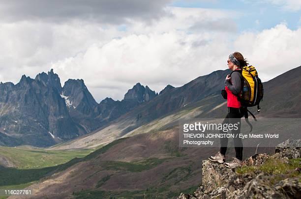 Hiking in Yukon's Tombstone Mountains