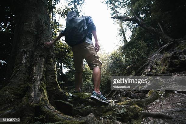 Hiking on Rough Terrain