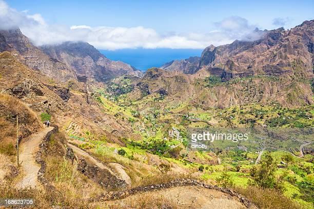 Hiking path to Ribeira do Paul - Cape Verde
