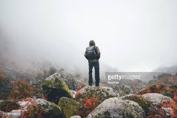 hiking the ruta el trabuquete in spain - wonderlust stock pictures, royalty-free photos & images