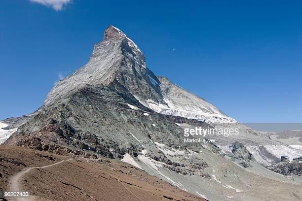 La randonnée vers le Matterhorn