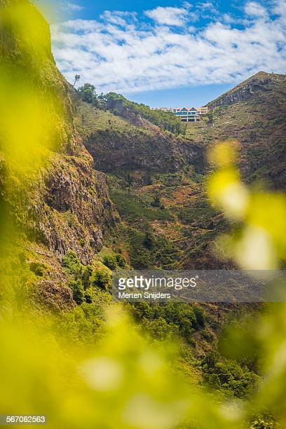 hiking trail from eira do serrado - merten snijders stock pictures, royalty-free photos & images