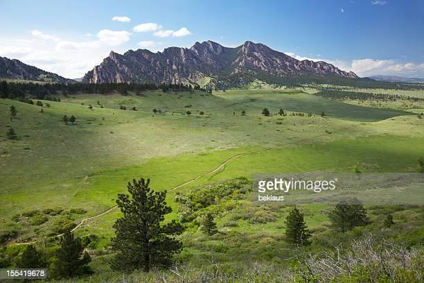 Hiking trail in Boulder Colorado