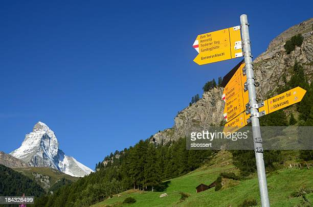 Wanderweg-in Zermatt