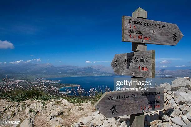 Hiking Trails on the Alcudia peninsula, Mallorca