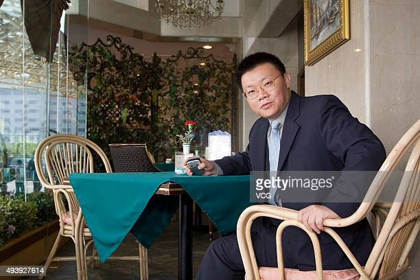 Hikvision Digital Technology Vice chairman Gong Hongjia is pictured in the photo on April 28 2006 in Beijing China