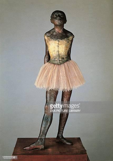 HilaireGermainEdgar Degas Little dancer aged fourteen circa 1880 Bronze statuette