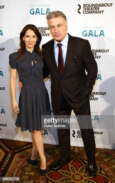 Hilaria Baldwin and Alec Baldwin attend the Roundabout Theatre Company's 2017 Spring Gala Act ii Setting the Stage for Roundabout's Future at the...