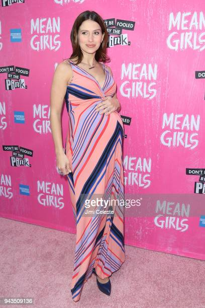 Hilaria Baldwin attend the opening night of Mean Girls on Broadway at August Wilson Theatre on April 8 2018 in New York City