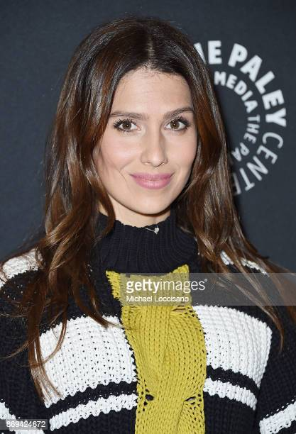 Hilaria Baldwin attends A Paley Honors Luncheon in her husband Alec Baldwin's honor at The Paley Center for Media on November 2 2017 in New York City