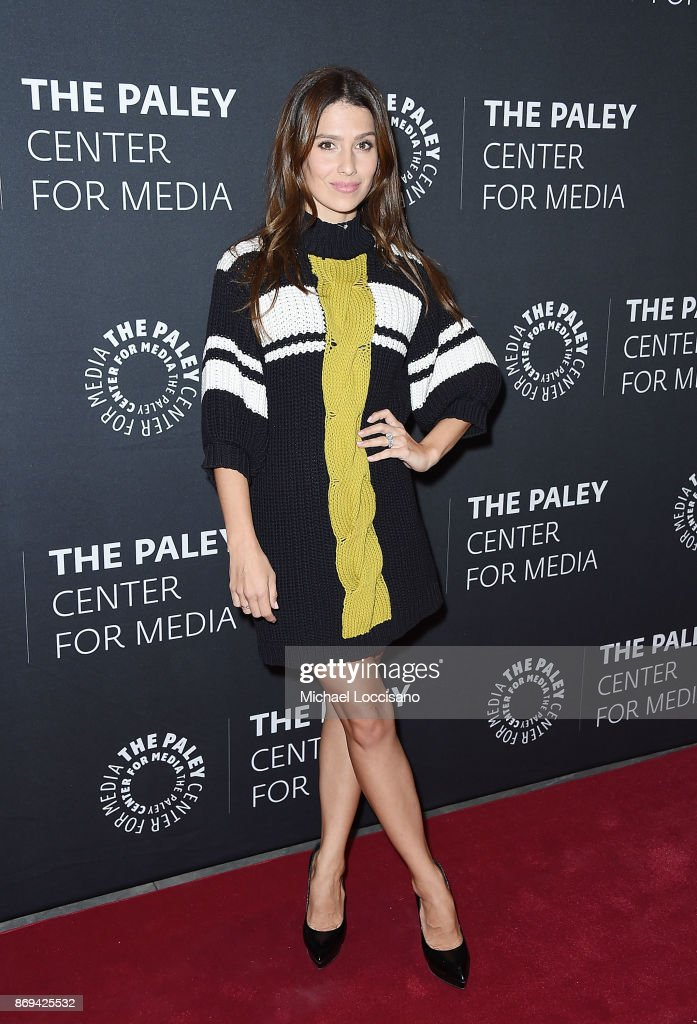 Hilaria Baldwin attends A Paley Honors Luncheon in her husband Alec Baldwin's honor, at The Paley Center for Media on November 2, 2017 in New York City.