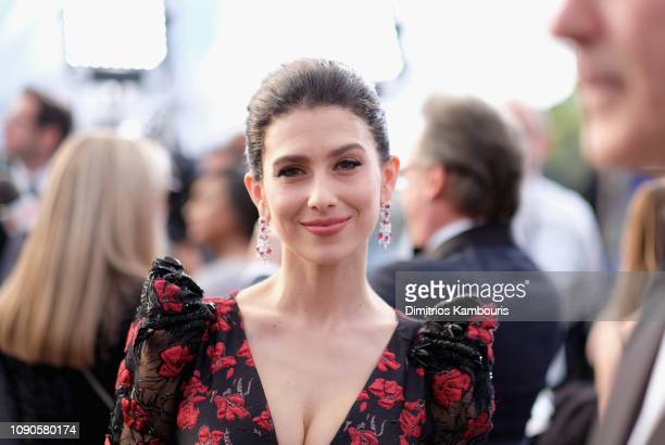 Hilaria Baldwin attends the 25th Annual Screen ActorsGuild Awards at The Shrine Auditorium on January 27 2019 in Los Angeles California 480595