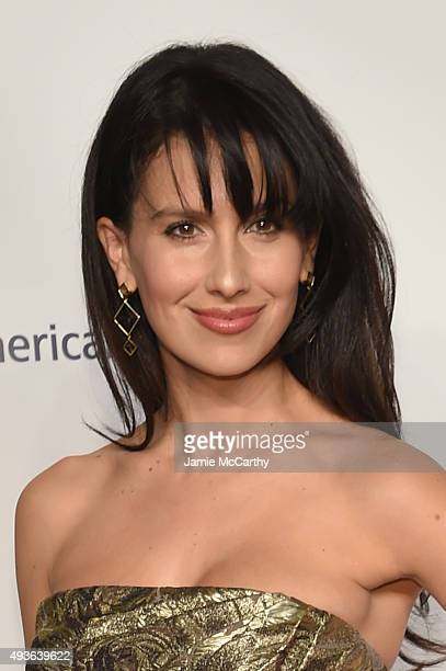 Hilaria Baldwin attends the American Ballet 75th Anniversary Fall Gala at David H Koch Theater at Lincoln Center on October 21 2015 in New York City