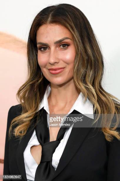 """Hilaria Baldwin attends """"The Boss Baby: Family Business"""" Premiere at SVA Theater on June 22, 2021 in New York City."""