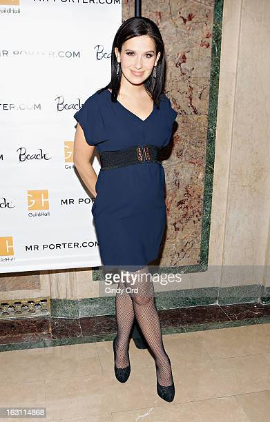 Hilaria Baldwin attends the Guild Hall Academy Of The Arts Lifetime Achievement Awards at The Plaza Hotel on March 4 2013 in New York City